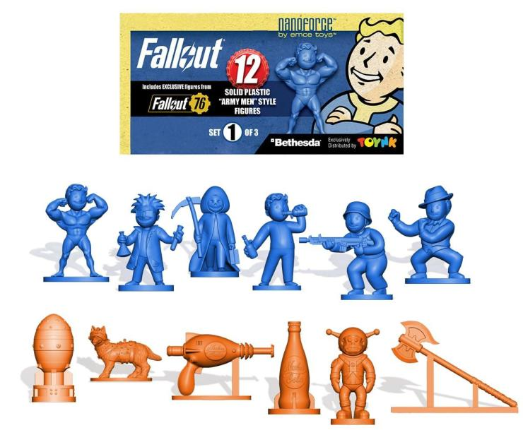 Toynk presents the Fallout Nanoforce Army Builder Collection Line