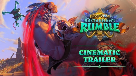 Hearthstone: New expansion 'Rastakhan's Rumble' confirmed, introduces new Shaman hero and Overkill mechanic