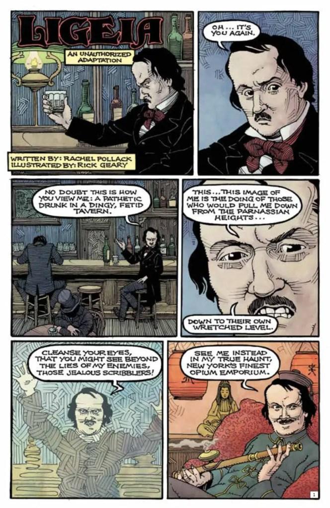 Edgar Allan Poe's Snifter of Terror #2 Review