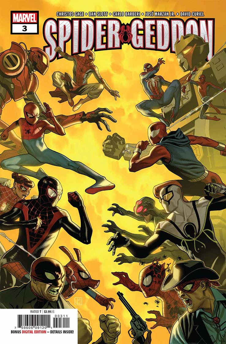 Spider-Geddon #3 Review: Upping the ante
