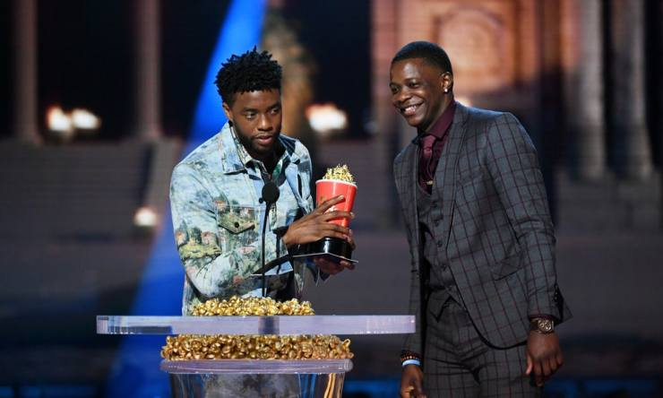 And the Golden Globe for best drama goes to...'Black Panther'?