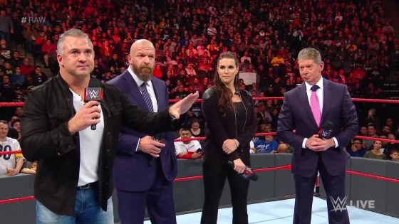"Vince McMahon starts Raw by apologizing for poor programming and promising a ""fresh start"""