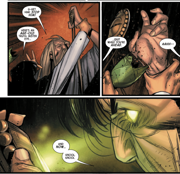 Hulk solves his Bruce Banner problem, and vice versa, in 'Immortal Hulk: The Best Defense' #1