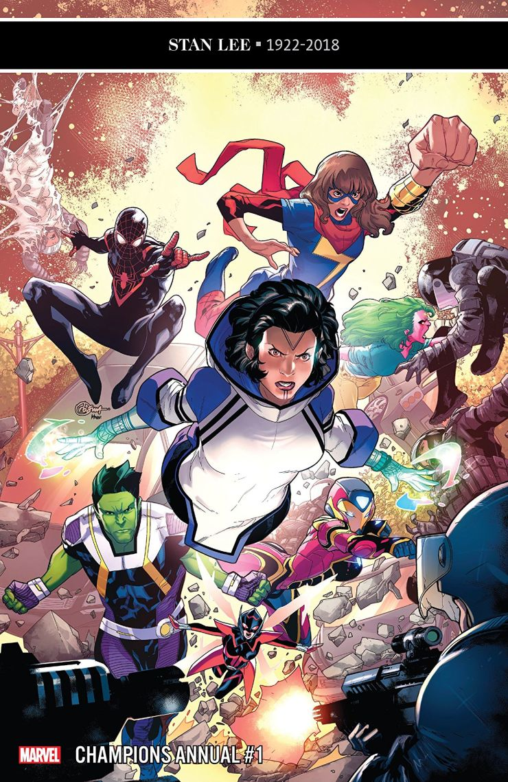 Marvel Preview: Champions Annual #1
