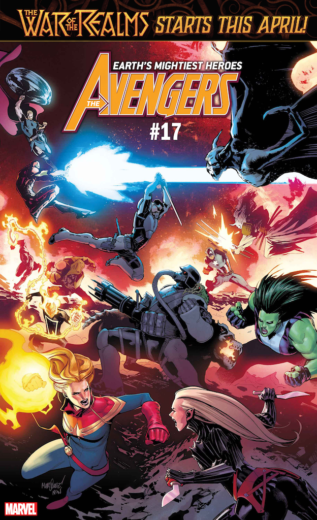 First Look: War of the Realms starts this April in Avengers, Thor, and Asgardians of the Galaxy