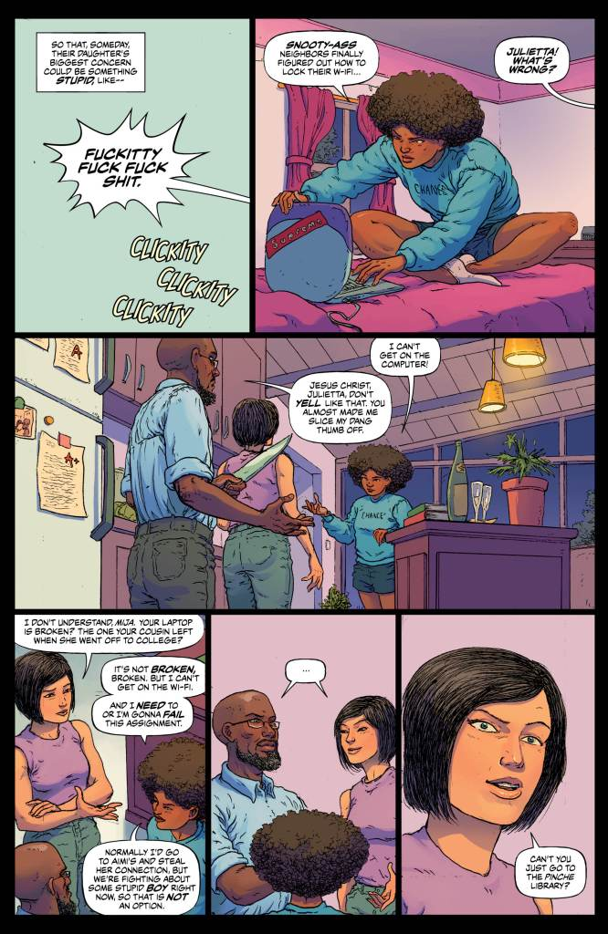 Border Town # 4 review: Crossing borders