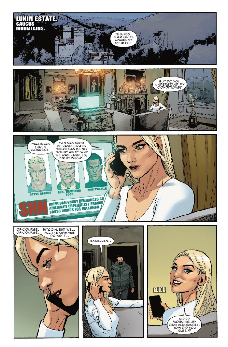 Marvel Preview: Captain America #7