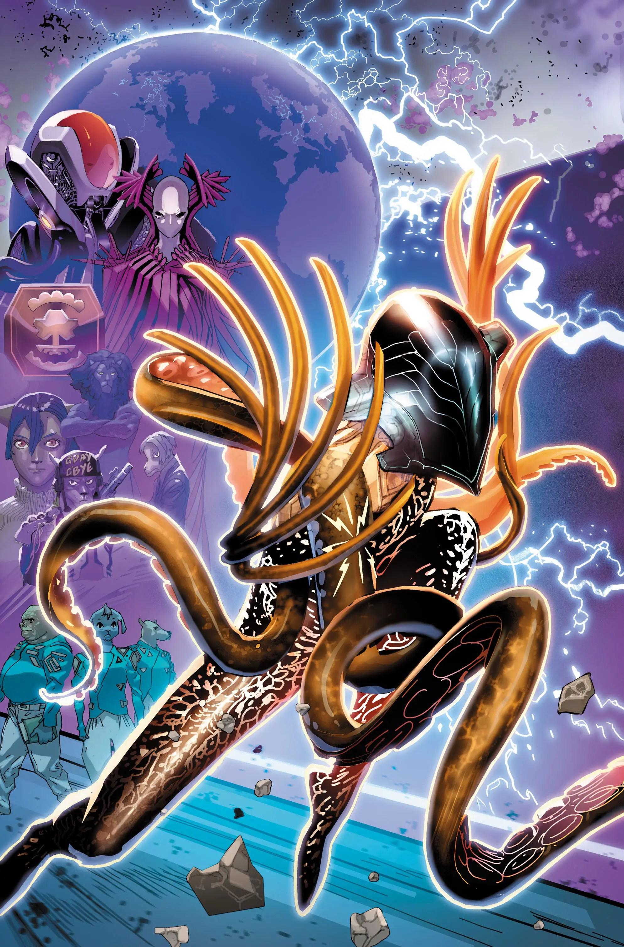 Electric Warriors #2 review: The battles begin
