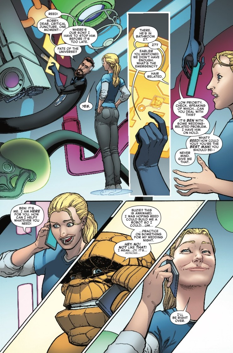 Marvel Preview: Fantastic Four #5