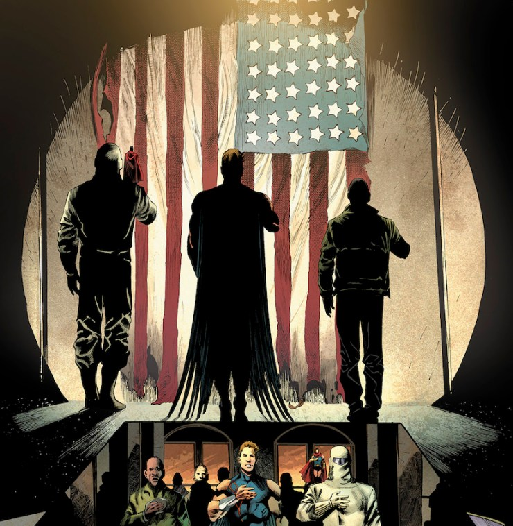 Robert Venditti talks patriotic superhero series 'Freedom Fighters' in a world where the Nazis won WWII