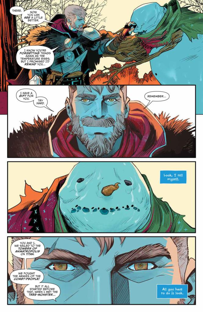 Klaus and the Crying Snowman #1 review