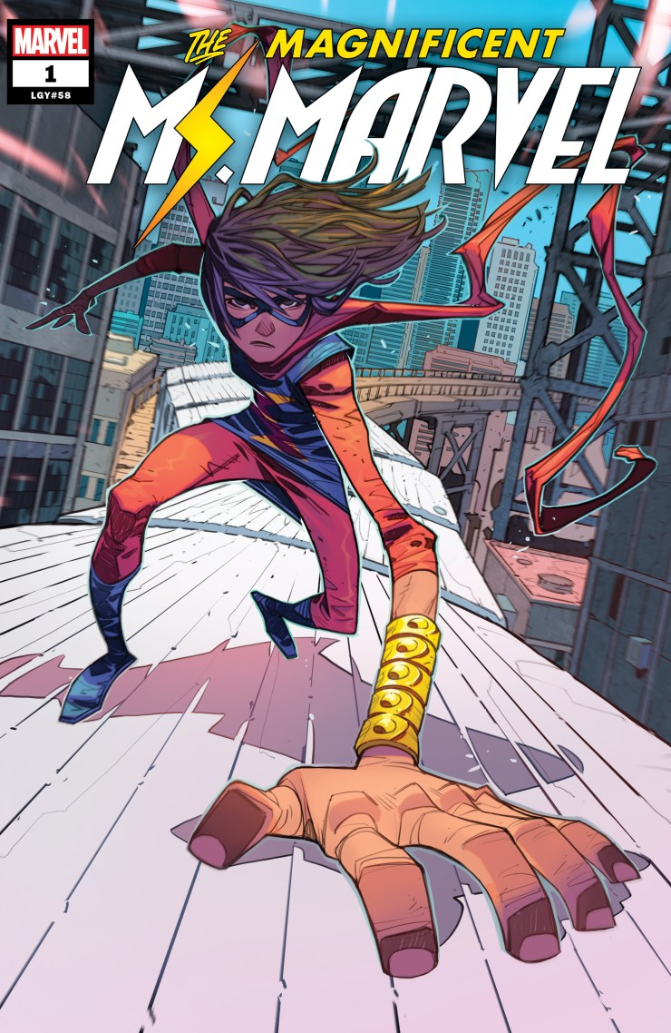 G. Willow Wilson steps down on 'Ms. Marvel,' Saladin Ahmed's 'The Magnificent Ms. Marvel' kicks off this spring