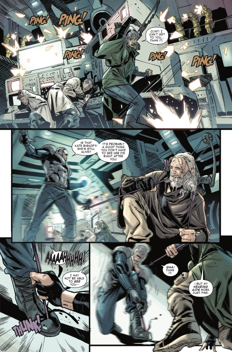 Marvel Preview: Old Man Hawkeye #12