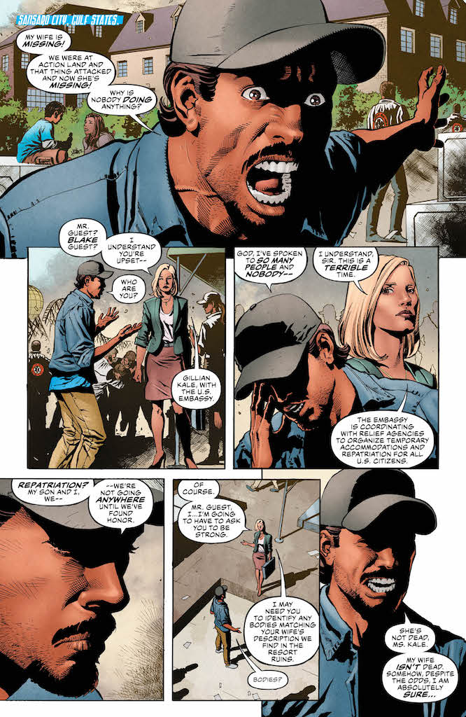 [EXCLUSIVE] DC Preview: Silencer #12