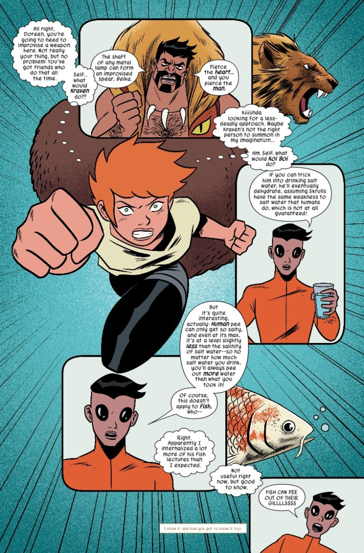 Marvel Preview: The Unbeatable Squirrel Girl #39