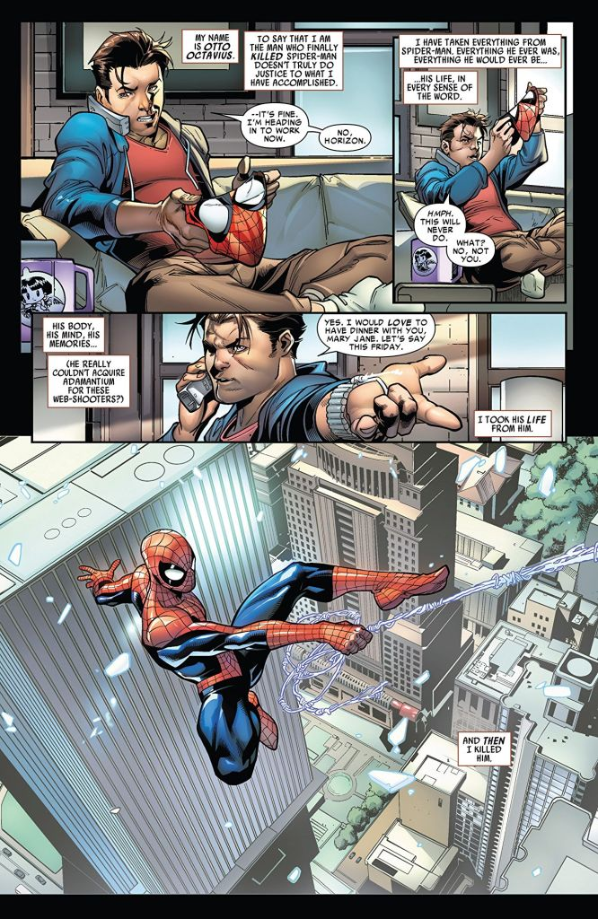 The Superior Spider-Man Companion reminds you exactly who Otto Octavius's Spider-Man is
