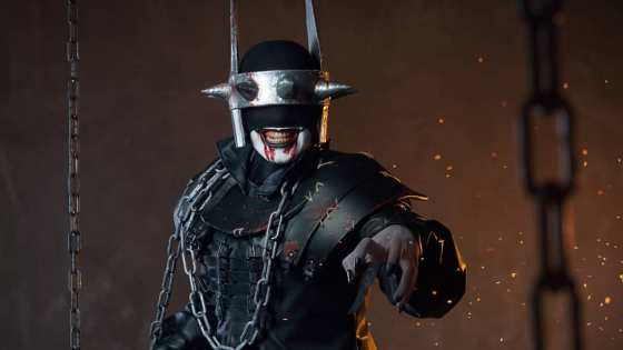Cosplayer Whitenerdy brings the terrifying Batman Who Laughs to life