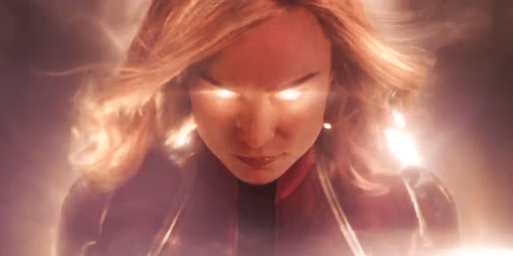 'Captain Marvel' is a week away. Do people still suck?