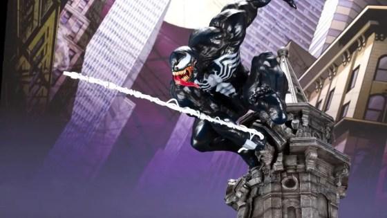 Kotobukiya unveils Venom ARTFX statue to match Spider-Man for 2019