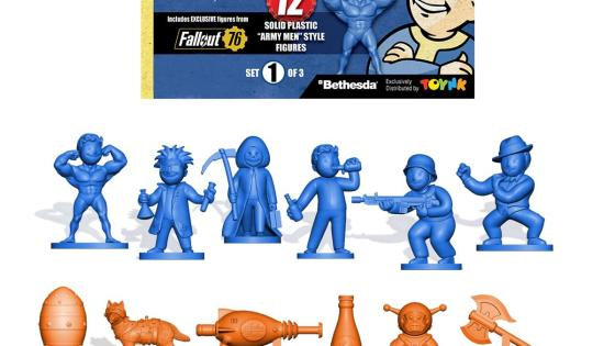 AiPT! review's Toynk's exclusive Fallout Nanoforce Series 1 Army Builder Figure Collection Set 1