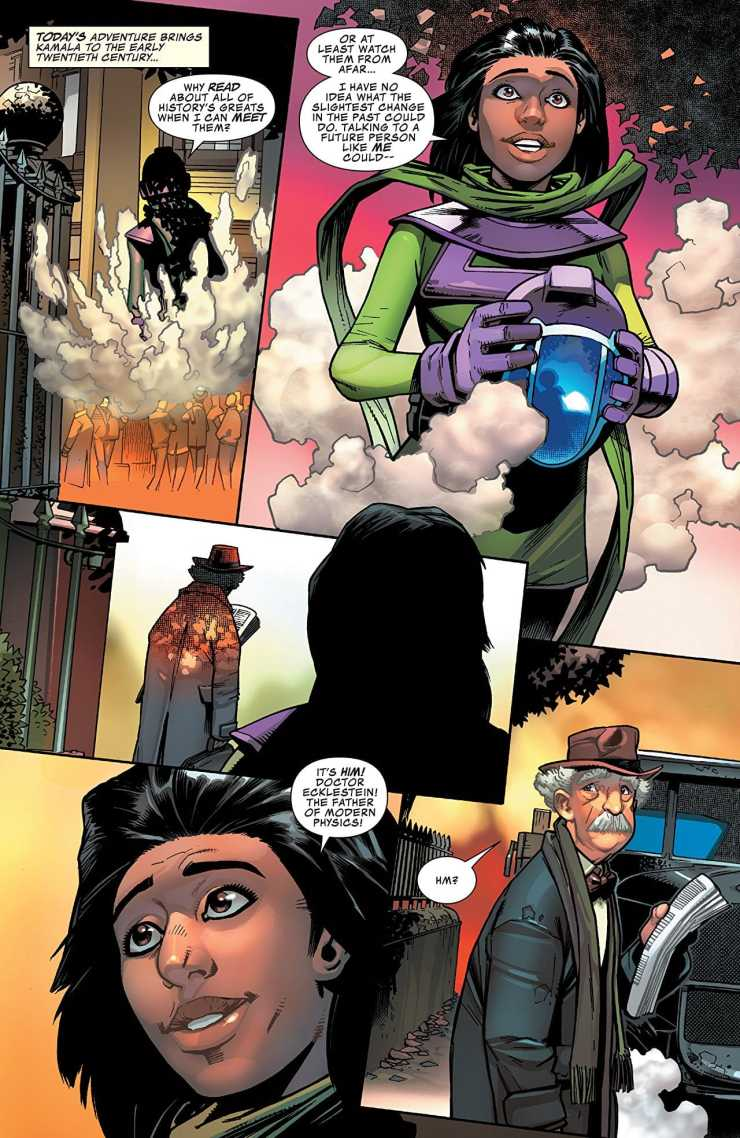 Infinity Warps #2 review: Wait, who is that?