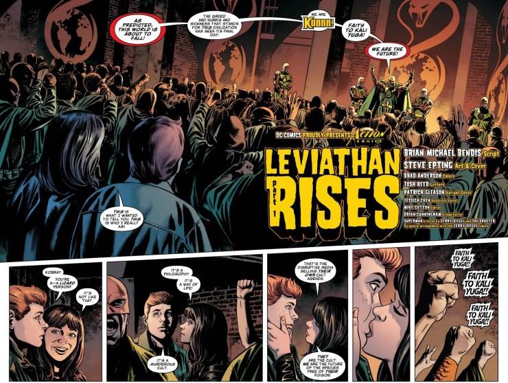 Action Comics #1007 review: Leviathan Rising