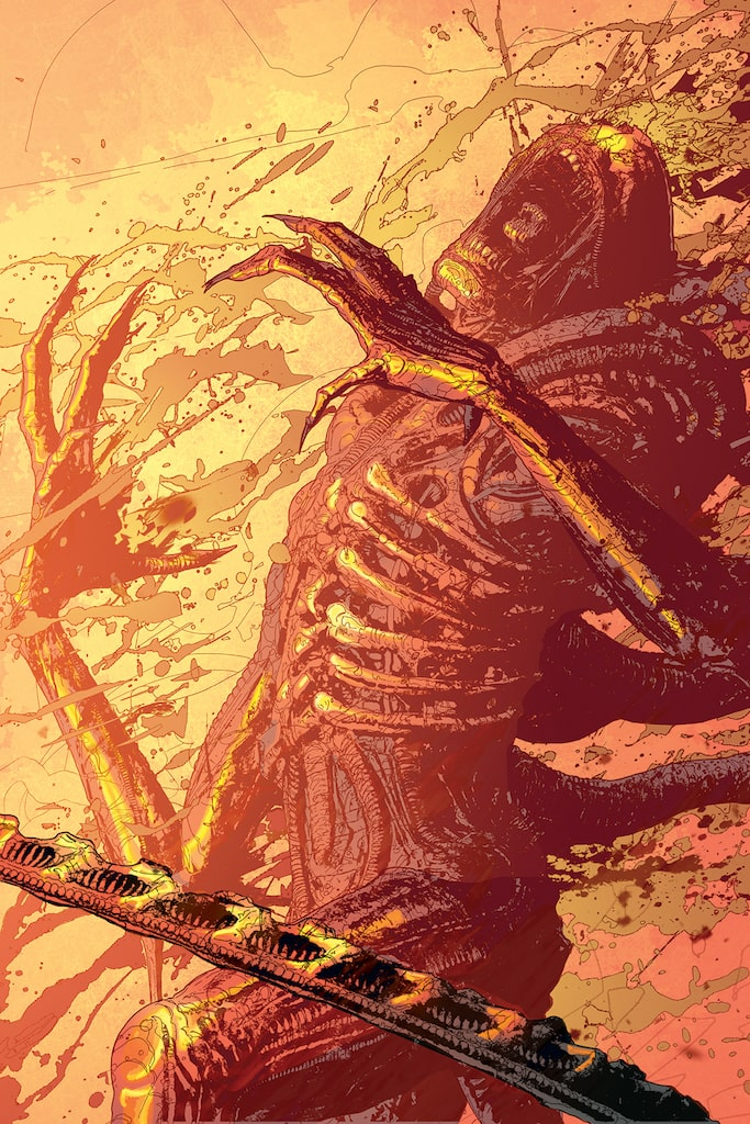 EXCLUSIVE Dark Horse Solicitations: Aliens: Resistance, Wyrd, and Calamity Kate