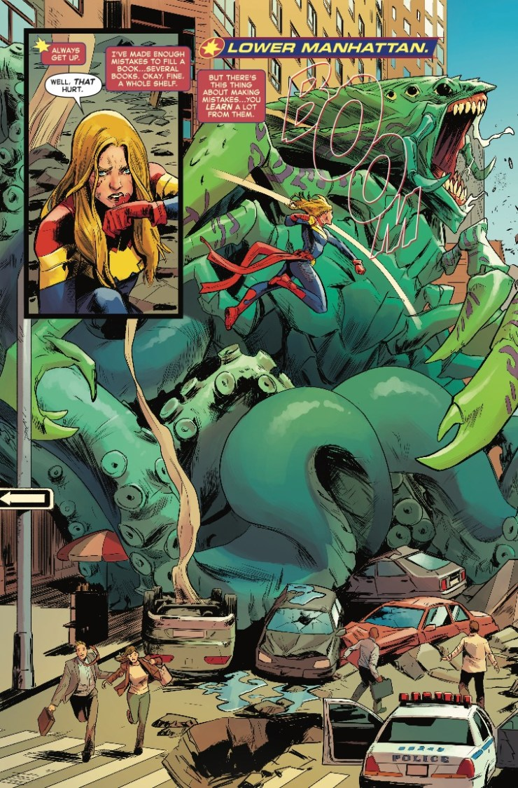 'Captain Marvel' #1 review: Fighter, soldier, hero, icon