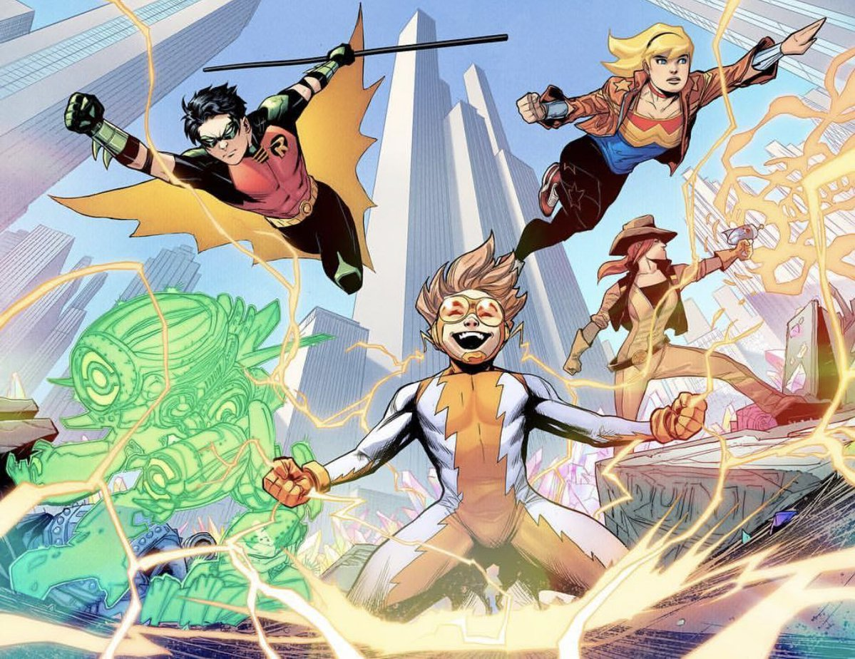 Young Justice #1 review: A fantastic return for DC's greatest teen team
