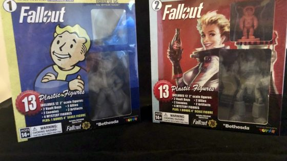 Fallout Nanoforce Series 1 Army Builder Figure Collection -Boxed Volume 1 & 2