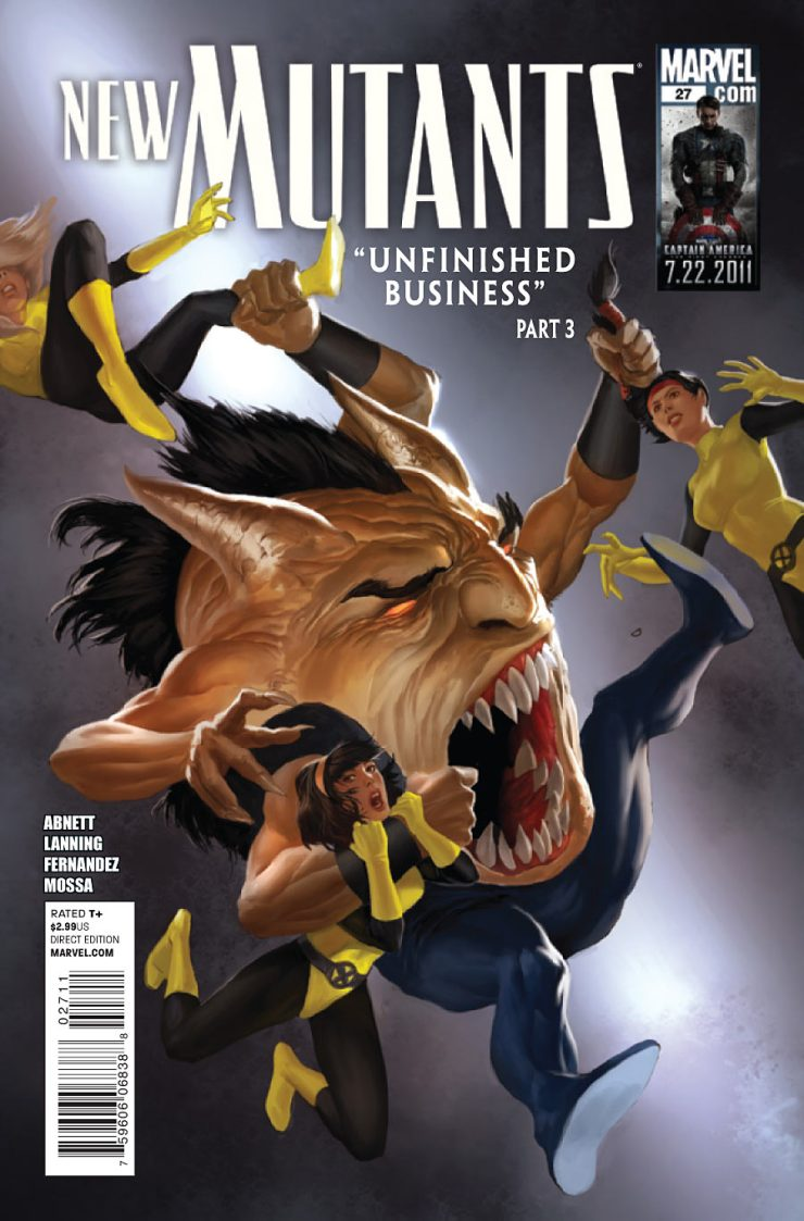 Looking at 'New Mutants by Abnett & Lanning: The Complete Collection Vol. 1'