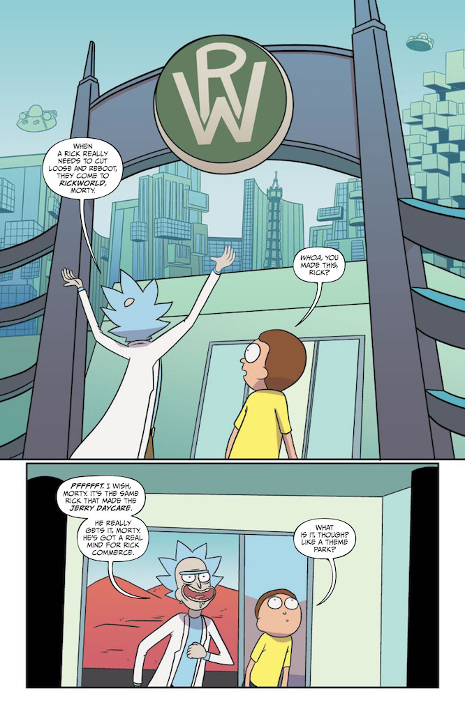 Rick and Morty #46 Review