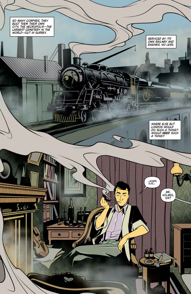 'Sherlock Holmes: The Vanishing Man' TPB Review