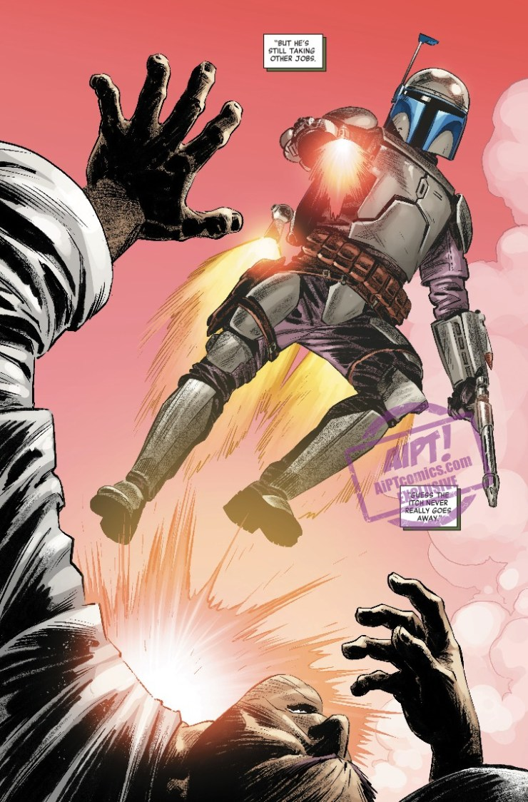 [EXCLUSIVE] Marvel Preview: Star Wars: Age Of The Republic - Jango Fett #1