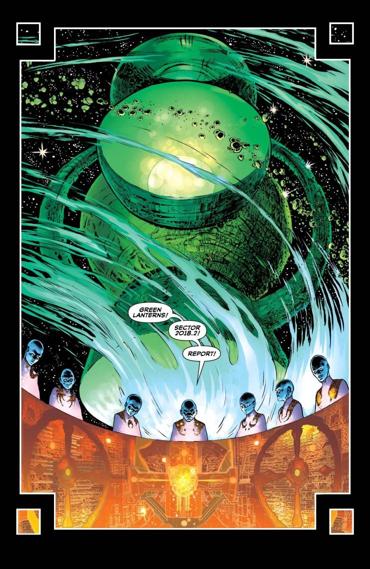 Is a Green Lantern more than a Blackstar?