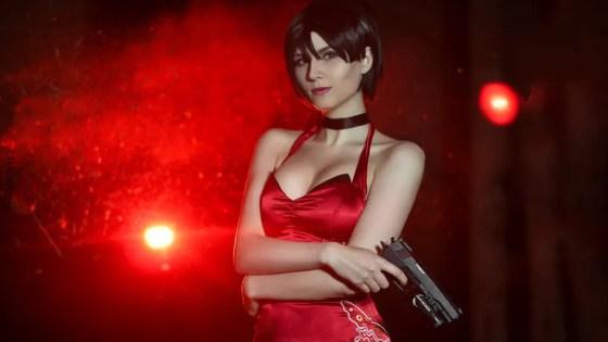 Resident Evil: Ada Wong cosplay by Beata Vargas