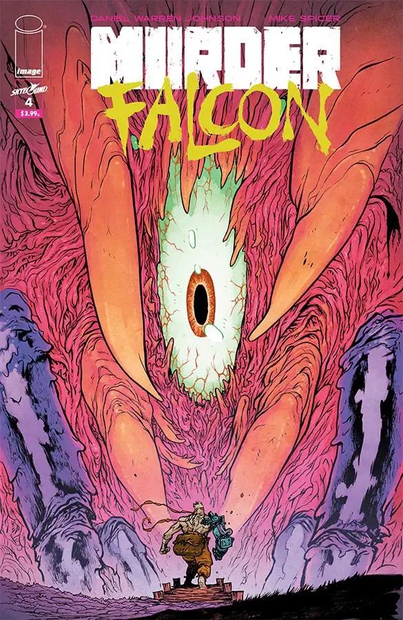 Murder Falcon #4 review: Bumpy flight