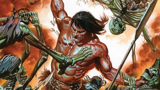 An all-new age of SAVAGE SWORD OF CONAN begins with a five-part tale of swords and sorcery.
