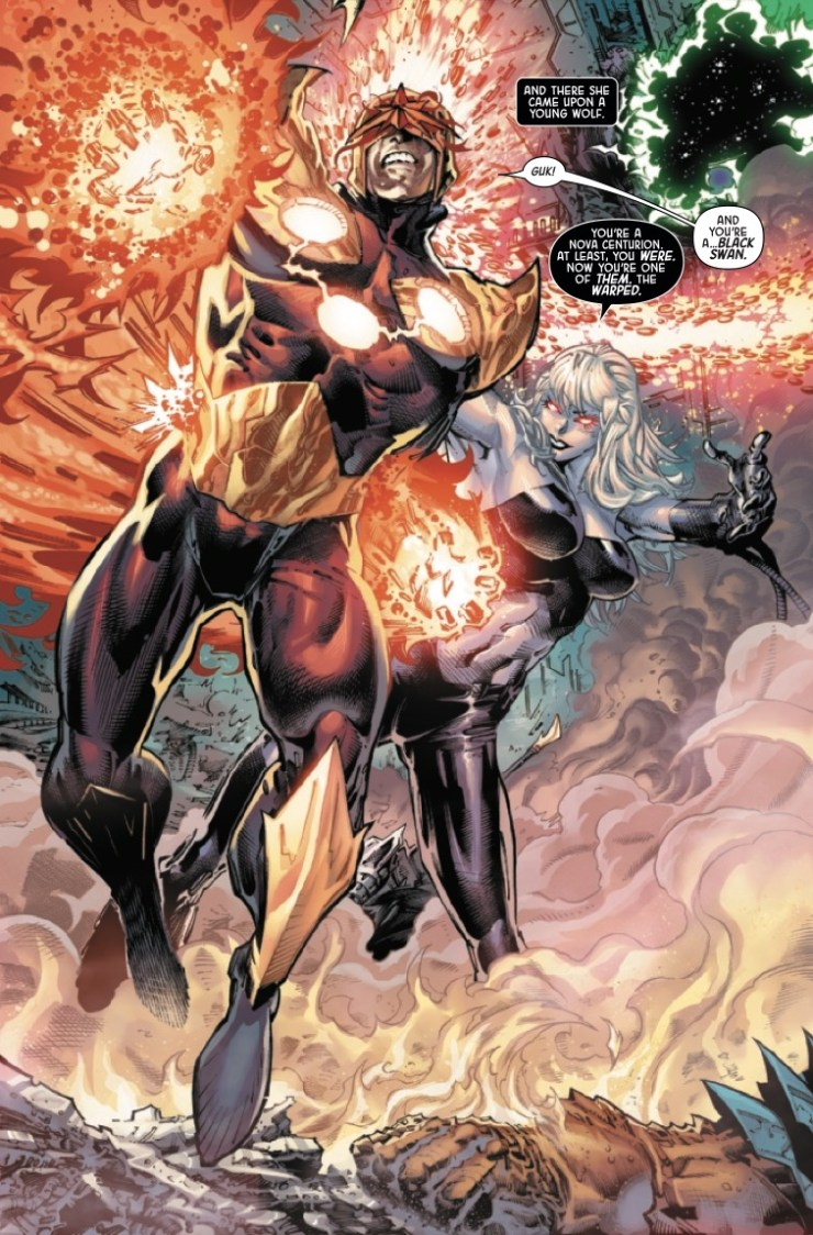 Marvel Preview: The Black Order #4