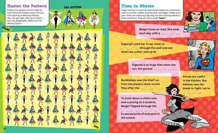 Book Review: 'Girl Power Brain Boosters' offers super hero sized mental workout