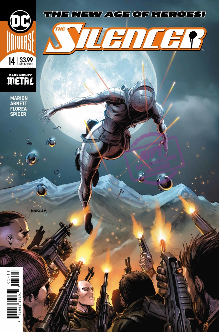 EXCLUSIVE DC Preview: The Silencer #14