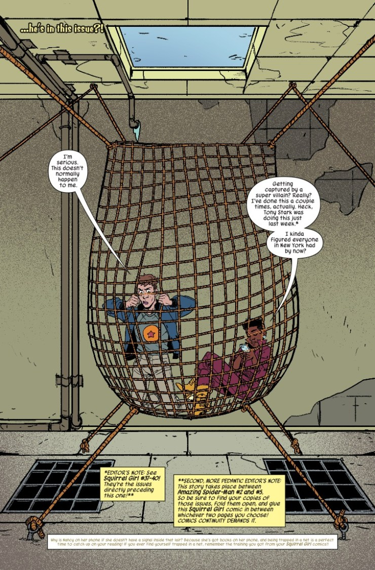 Marvel Preview: The Unbeatable Squirrel Girl #41