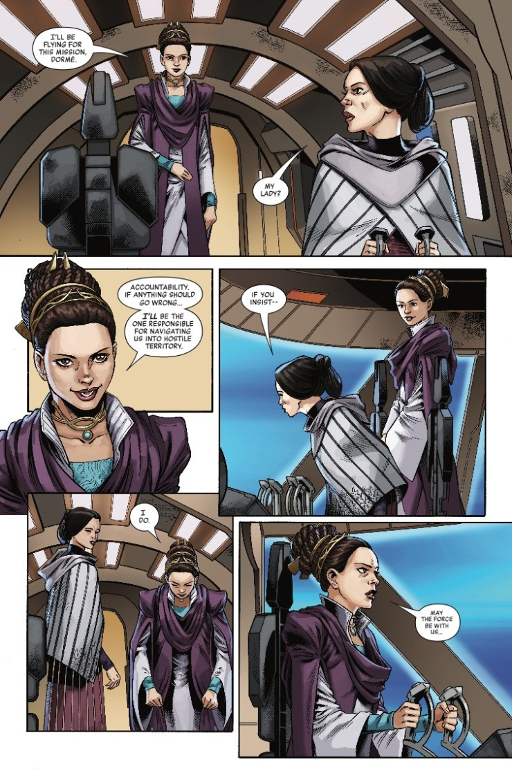 Marvel Preview: Star Wars: Age of Republic - Padme Amidala #1