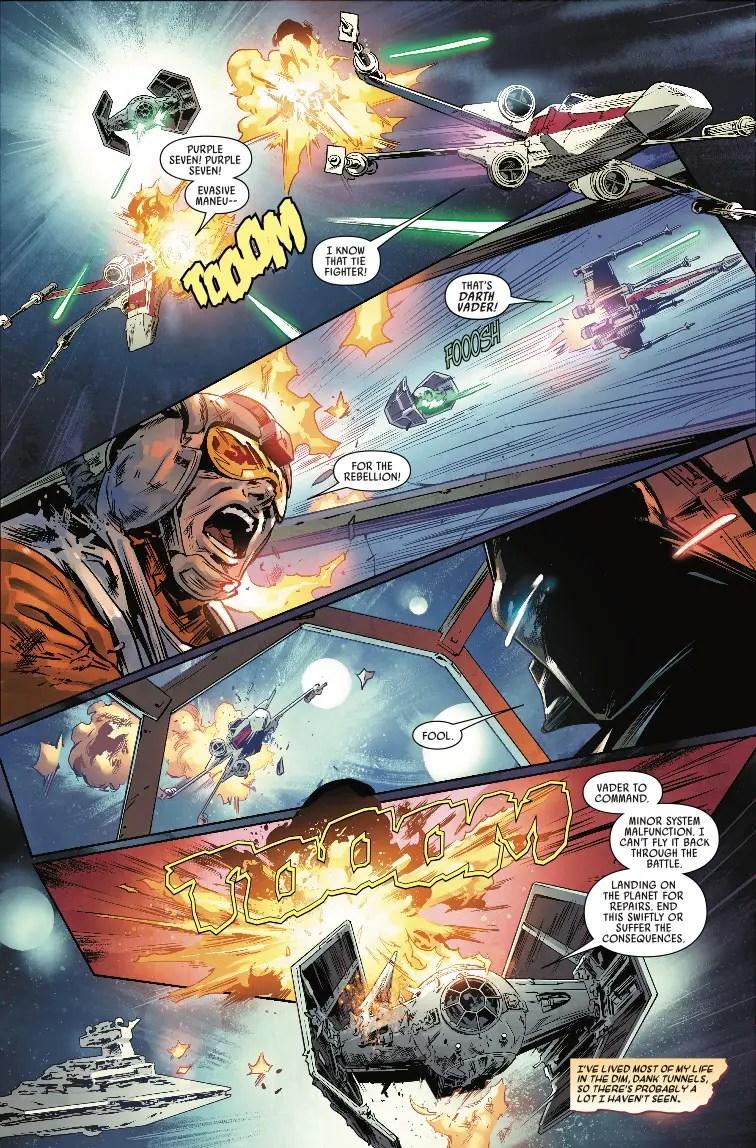 Star Wars: Vader - Dark Visions #1 Review