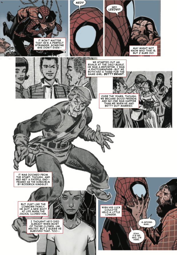 Long dead supporting character makes contact in 'Amazing Spider-Man' #15