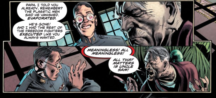 Freedom Fighters #3 Review