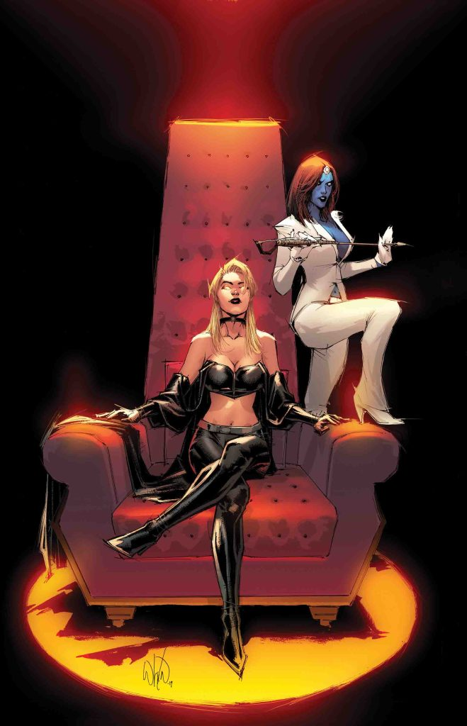 Emma Frost returns and the Age of X-Man crumbles in Marvel's May X-Men solicitations