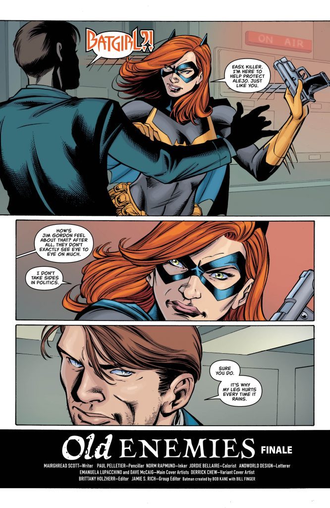 Batgirl #32 Review