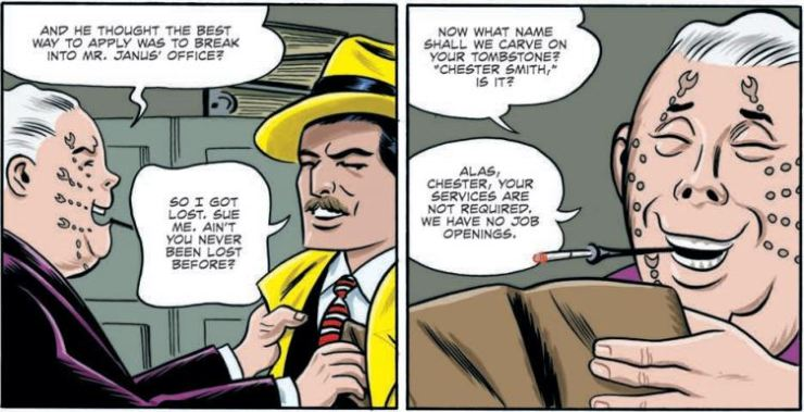 Dick Tracy: Dead or Alive #4 review