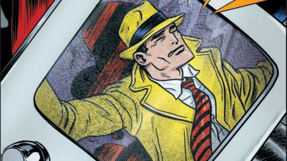 A grand finale to end this excellent Dick Tracy caper.